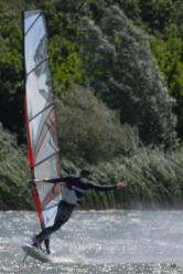 FreeStyle Windsurfen am Oberrieder Weiher